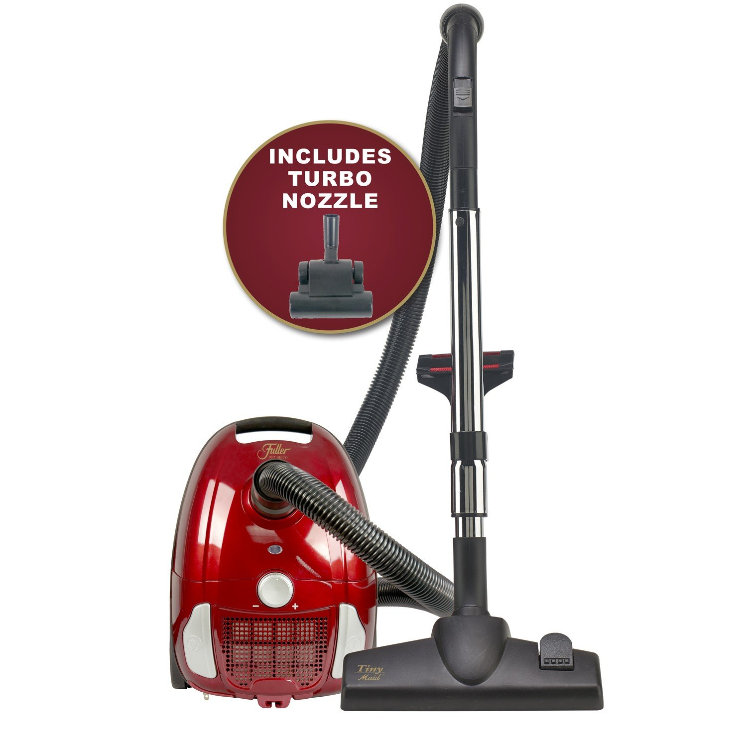 Tiny Maid Compact Canister Vacuum with Floor Turbo