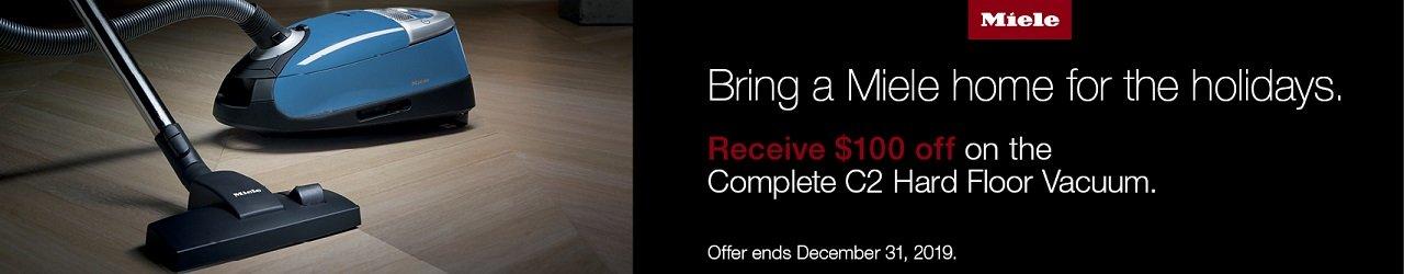 $100 Off Complete C2 Hard Floor Promotion