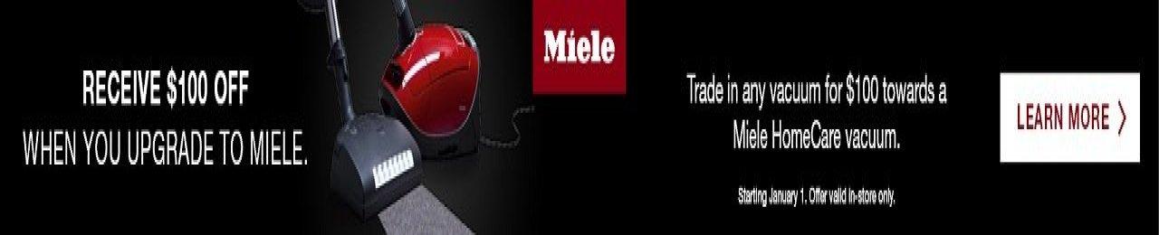 miele trade up sale