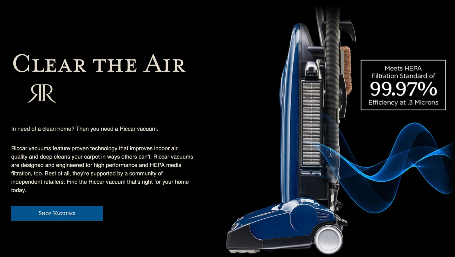 richer clear the air