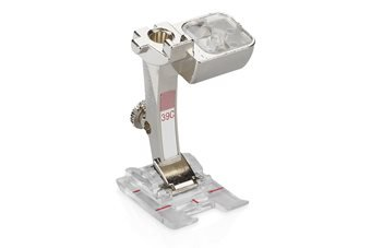 BERNINA FOOT #39C OPEN/CLOSED EMBROIDERY(CLEAR)