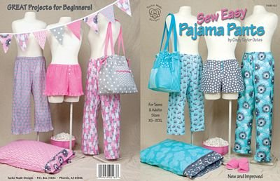 Sew Easy Pajama Pants Taylor Made Designs