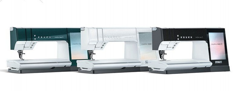 The creative icon™ 2 sewing and embroidery machine