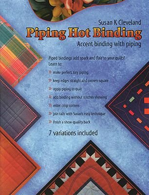 Piping Hot Binding Book & Ruler