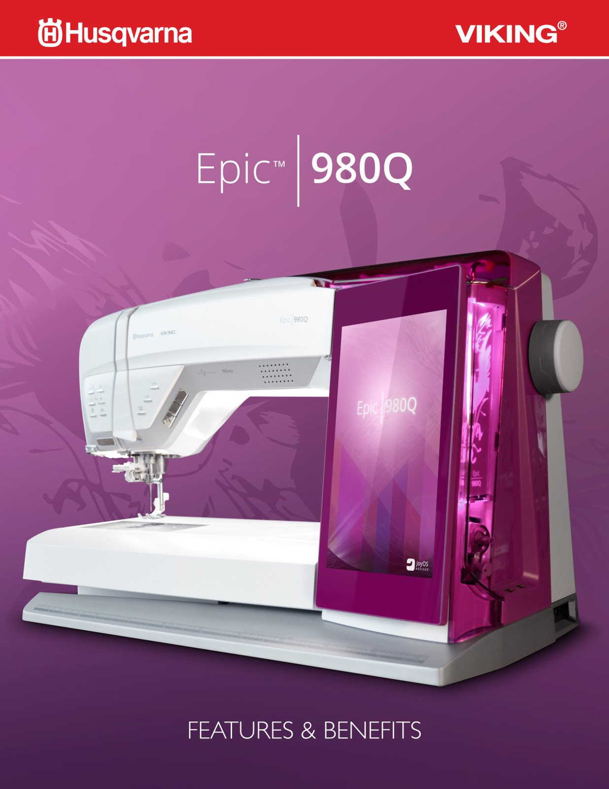 Husqvarna Epic Viking 980Q Now In Stock