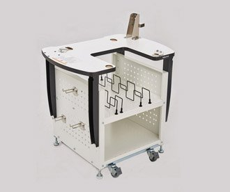 White Stand For Babylock Multi Needle
