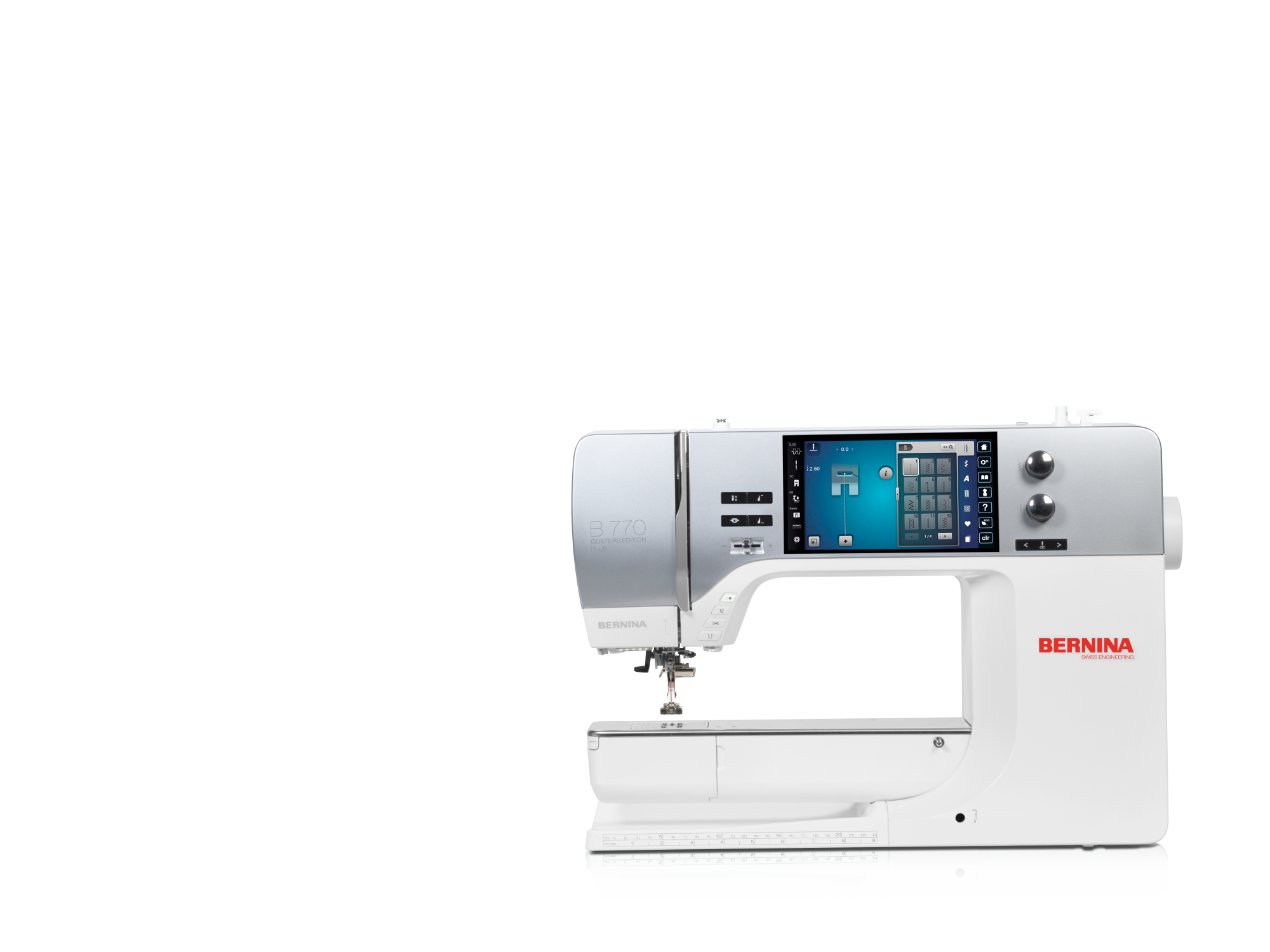 Bernina B880 Crystal Edition with Embroidery