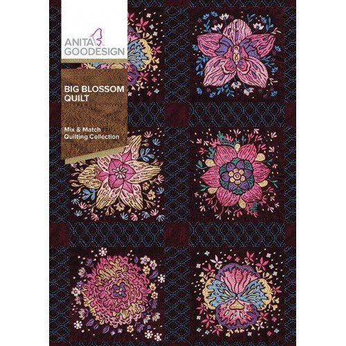 Anita Goodesign Big Blossom Quilt