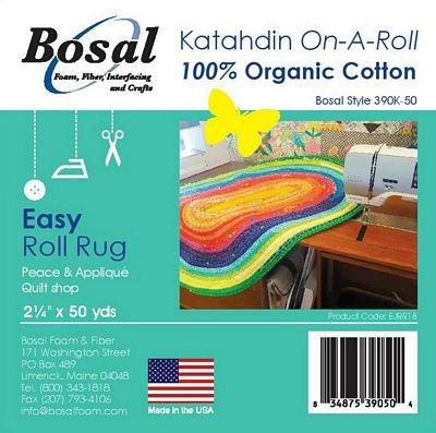 Katahdin On-A-Roll 100% Natural Cotton-50yd