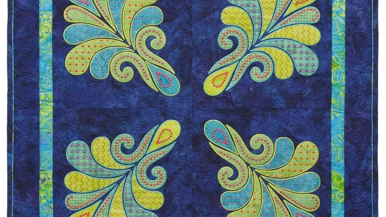 Heather Feather Quilt CD by Sarah Vedeler
