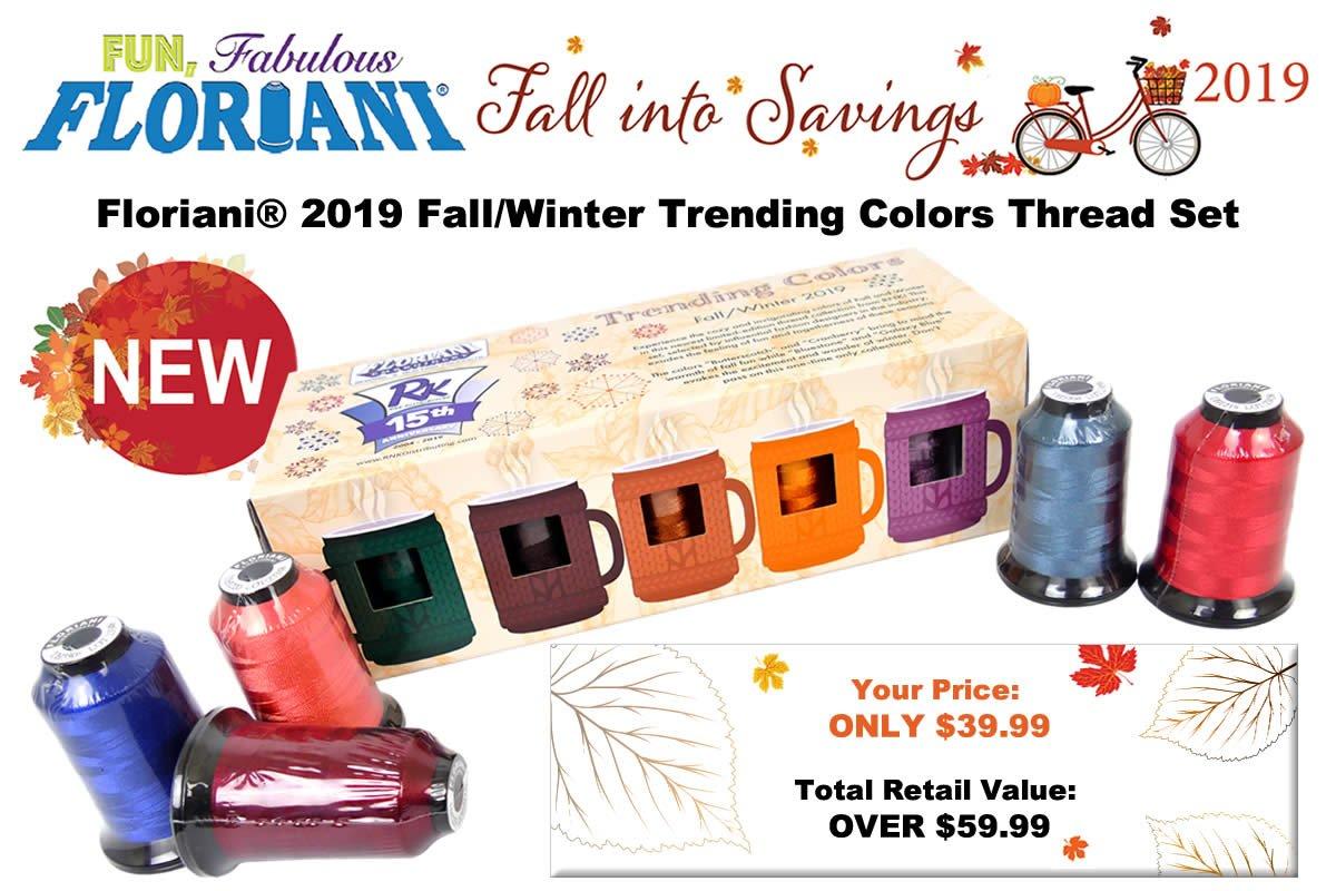 Fall Trending Colors WN 2019