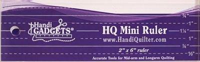 HANDIQUILTER mini 2x6 ruler