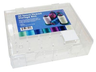Acrylic Box 30 Spool Capacity