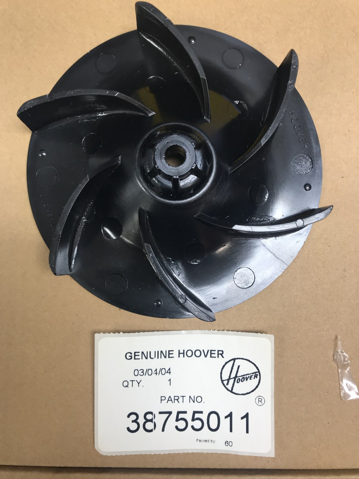 HOOVER Convertible Decade Upright Lexan Fan