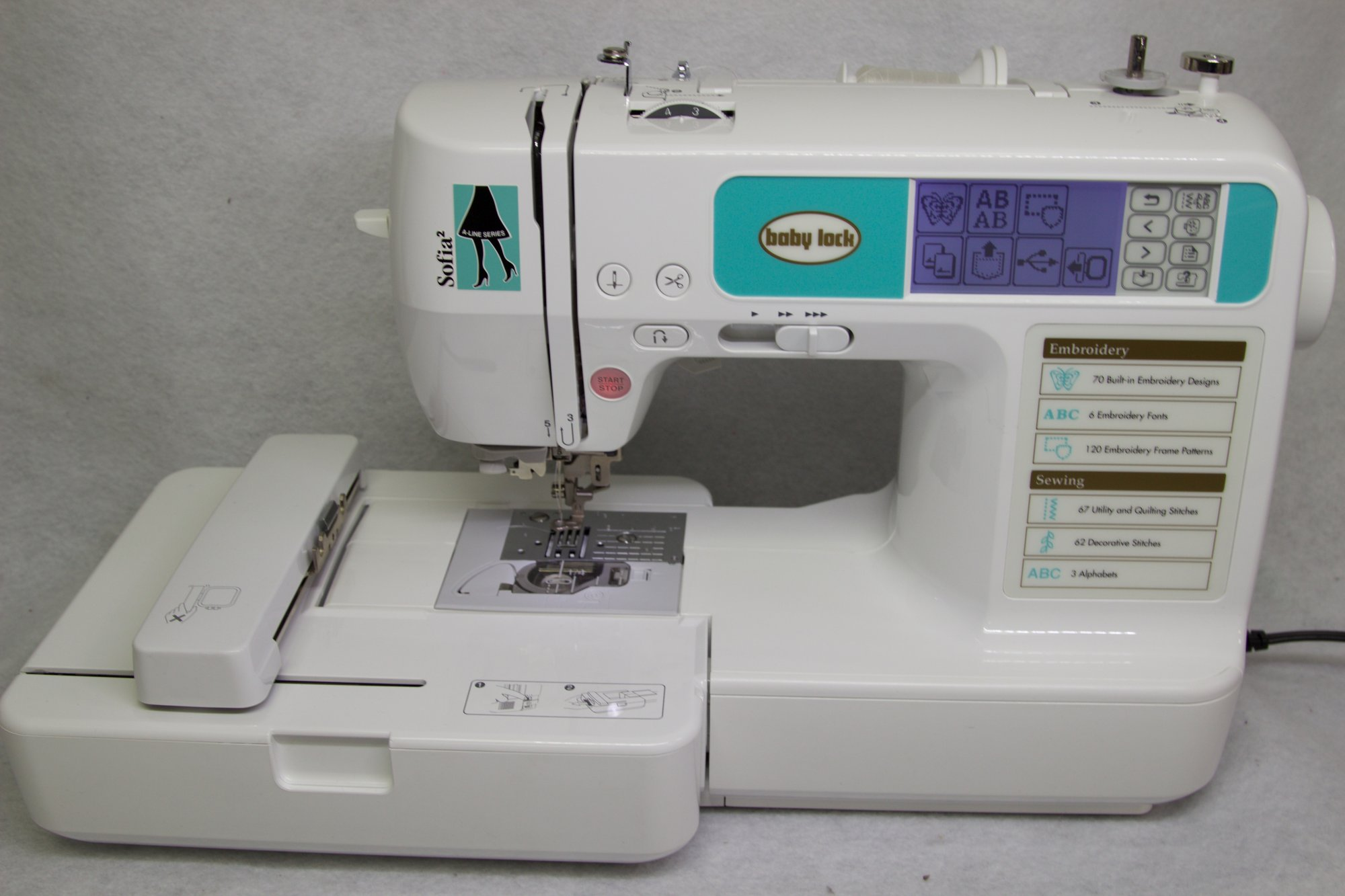 Babylock Sofia2 Sewing & Embroidery Machine #U19732-F5G271047
