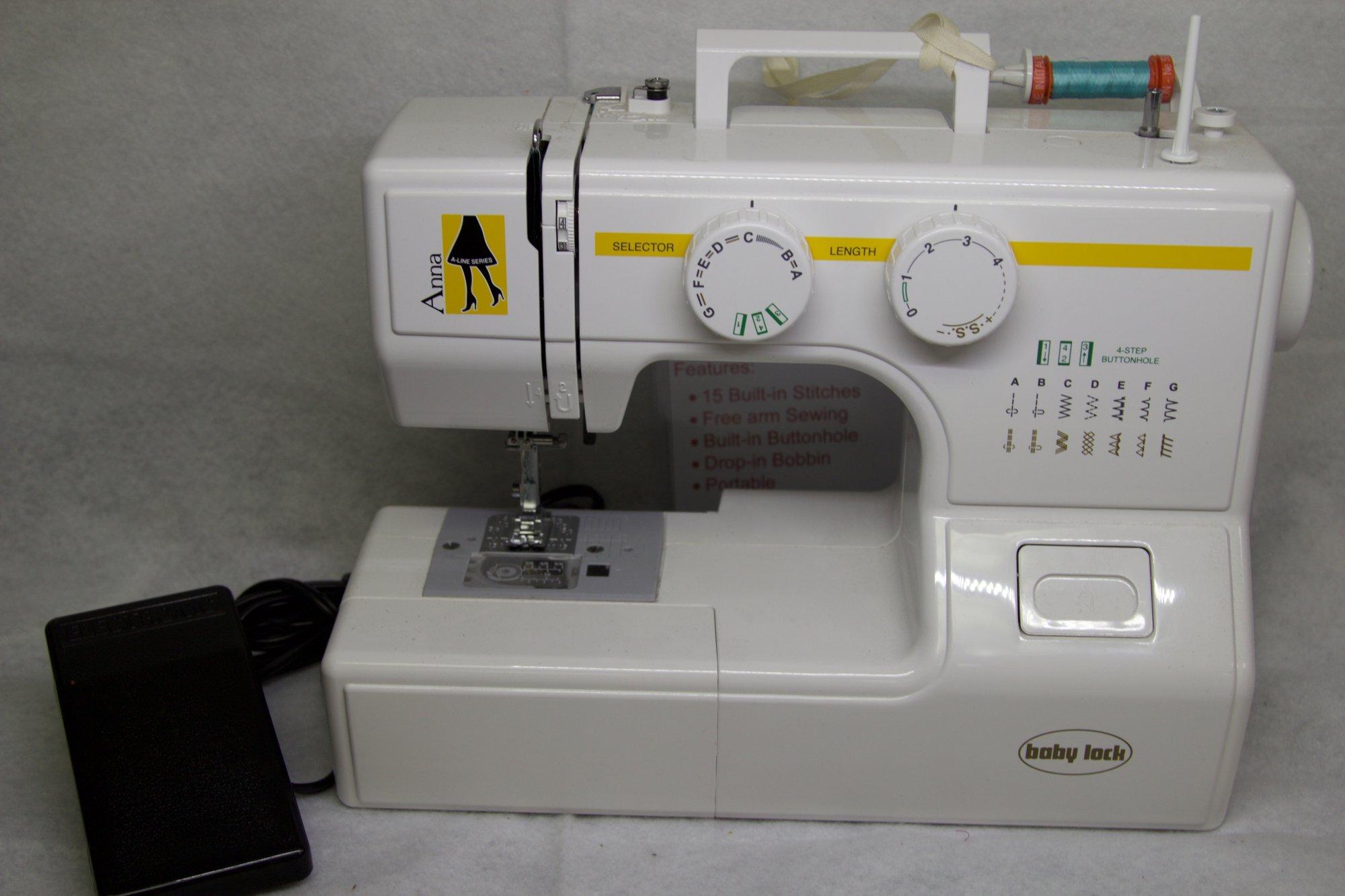 Babylock Anna Sewing Machine #7F0017641