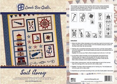 Lunch Box Quilts Sail Away