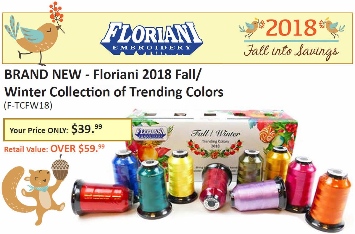 Floriani Fall Trending Colors