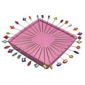 Zirkel Magnetic Pin Holder - Pink