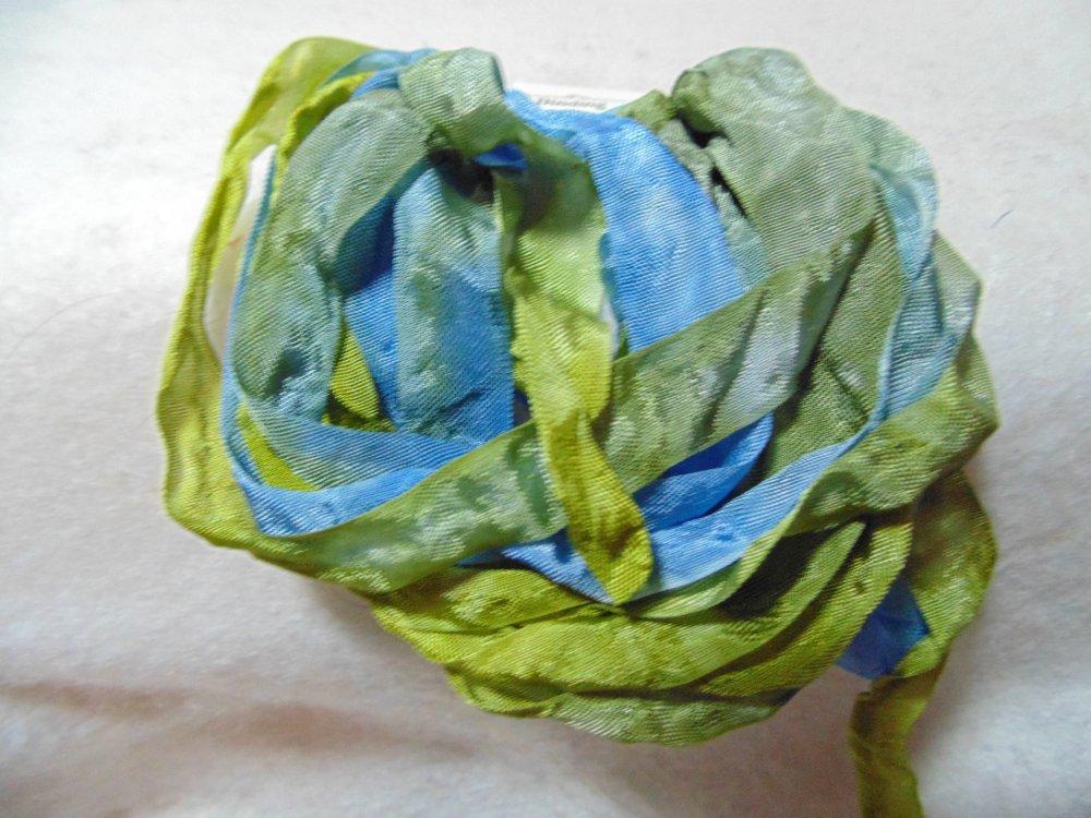 Mountain Vista Hand-Dyed Rayon Seam Binding 5yds