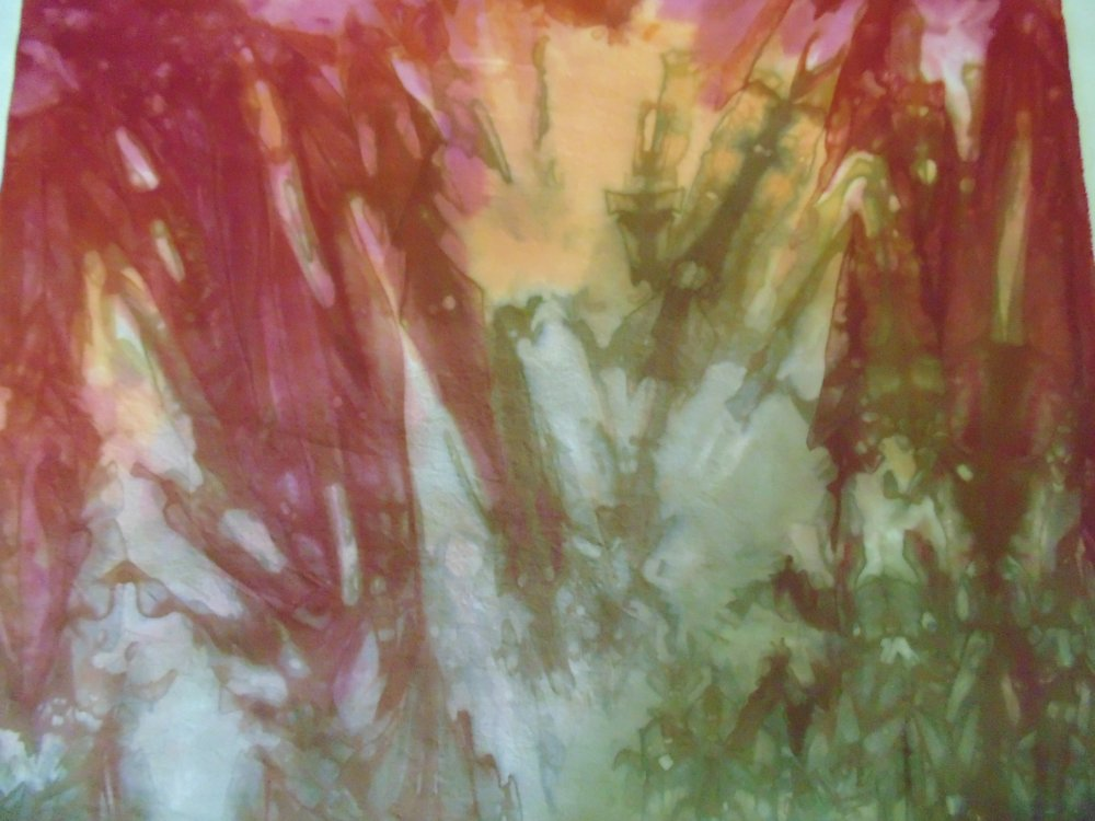 Russet Hand-Dyed Cotton Fabric