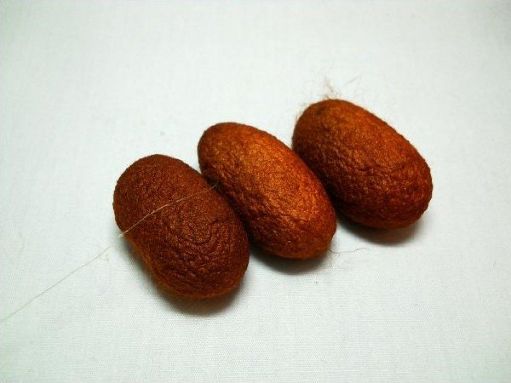 Amber -Silk Cocoon