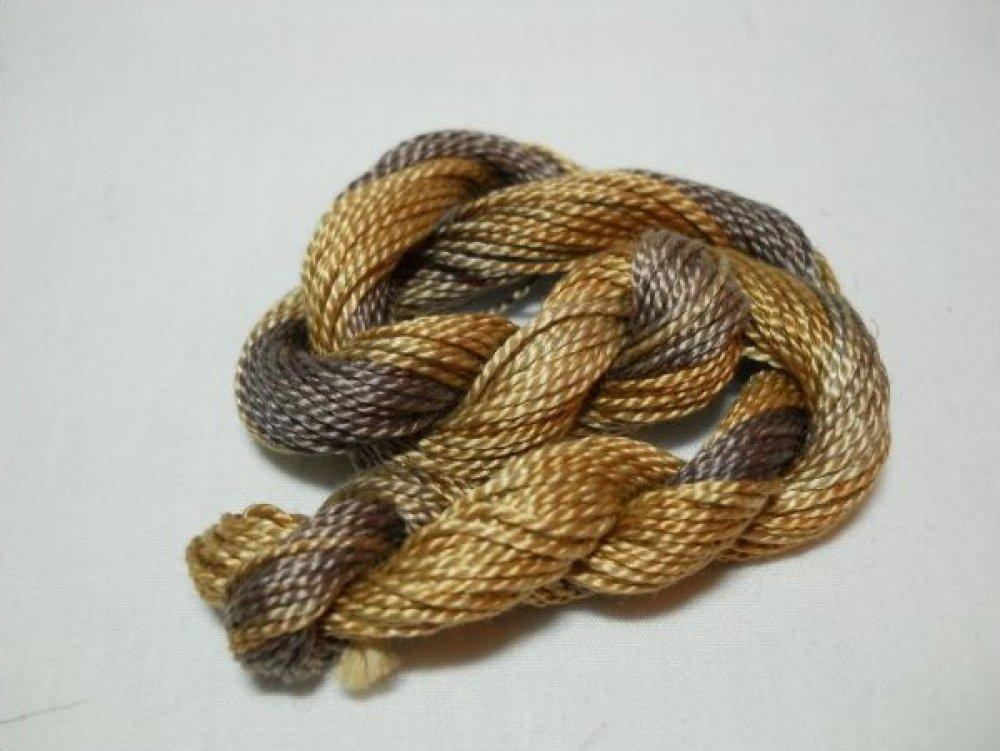 Bark- Hand-Dyed Perle Cotton Sz3