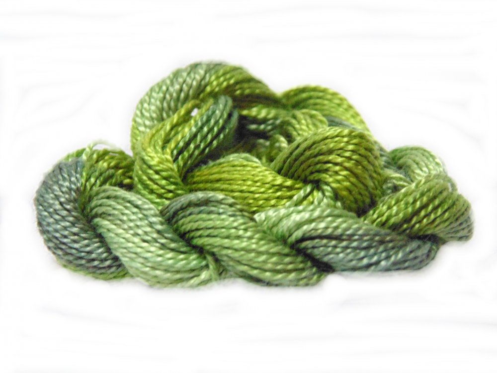 Pickles- Hand-dyed Perle Cotton Sz12   20yds