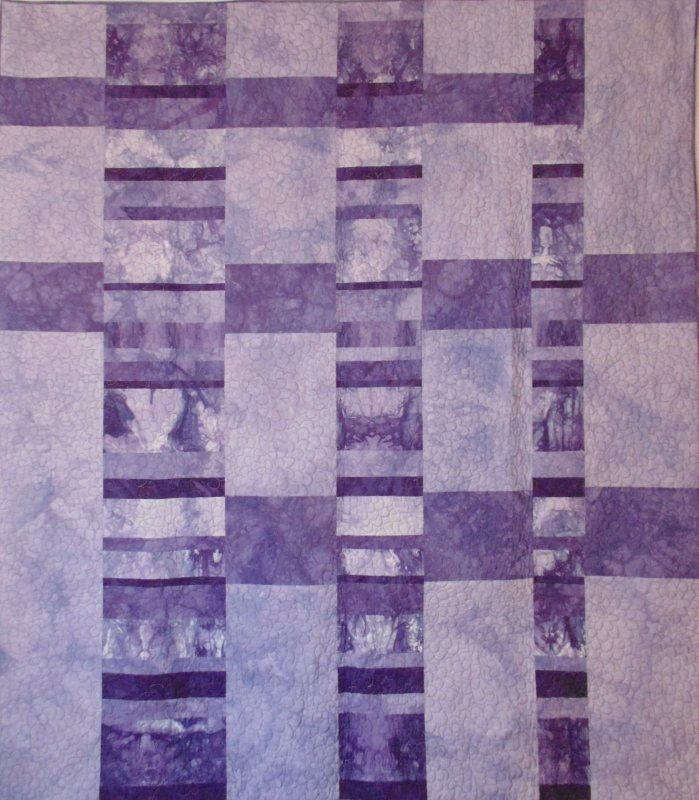 Visions of Plums Quilt Kit