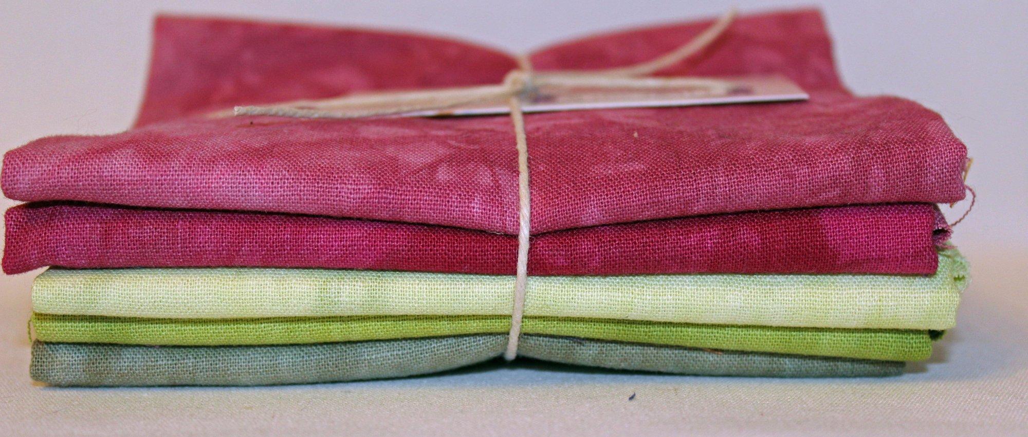 Briar Patch Hand-dyed Linen Fat Quarter 5pc Set