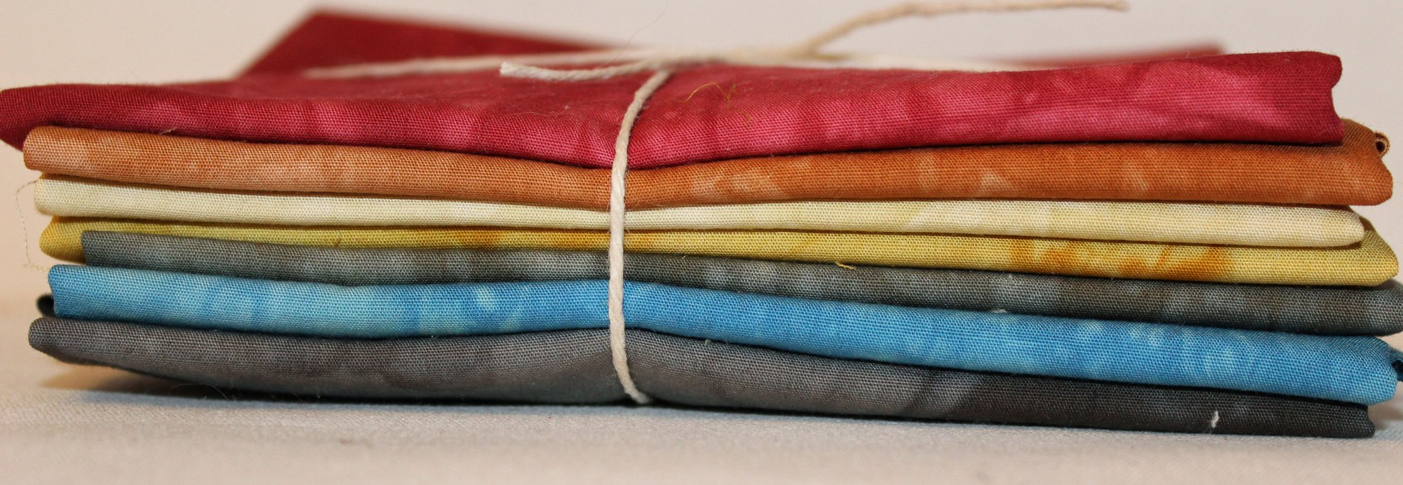 Traditionals- Hand-Dyed 7pc Fabric Set