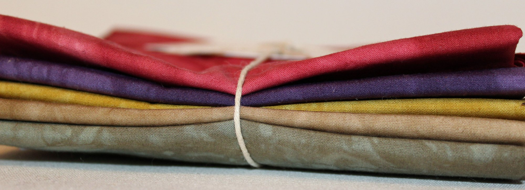 Provence- Hand-Dyed 5pc Fabric Set