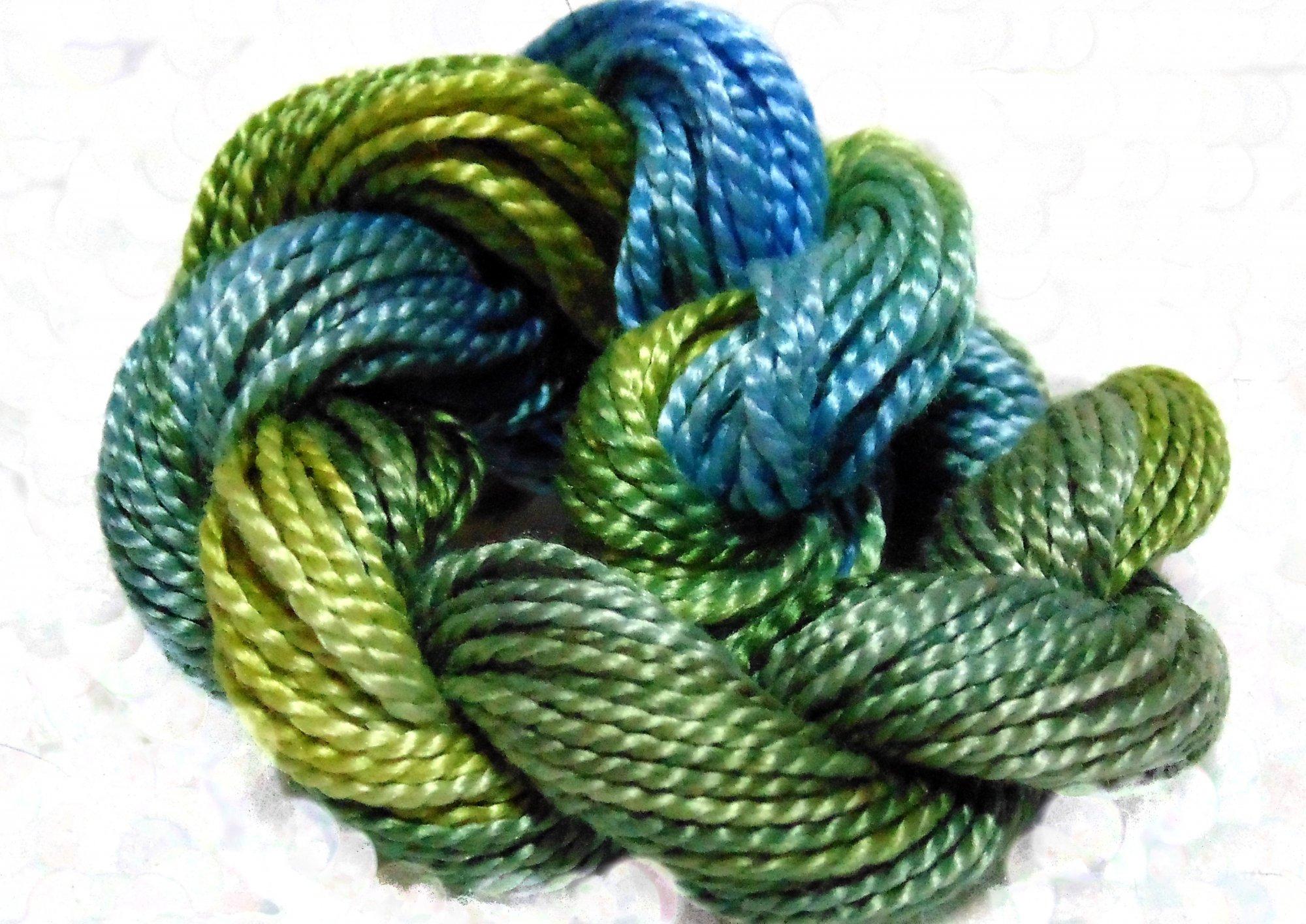 Mountain Vista- Hand-Dyed Perle Cotton Sz 5