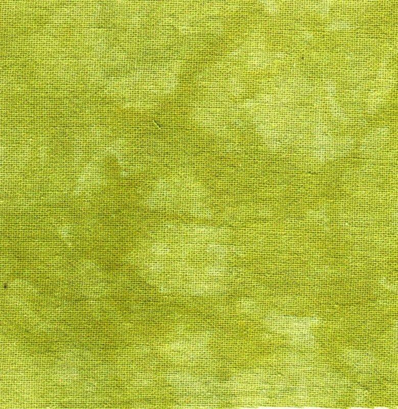 Jalapeno Hand-Dyed Linen Fat Quarter