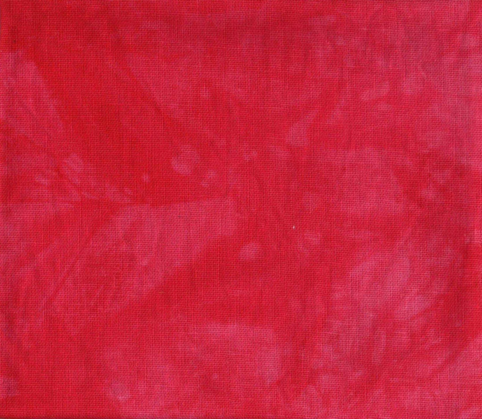 Lipstick Hand-Dyed Linen Fat Quarter