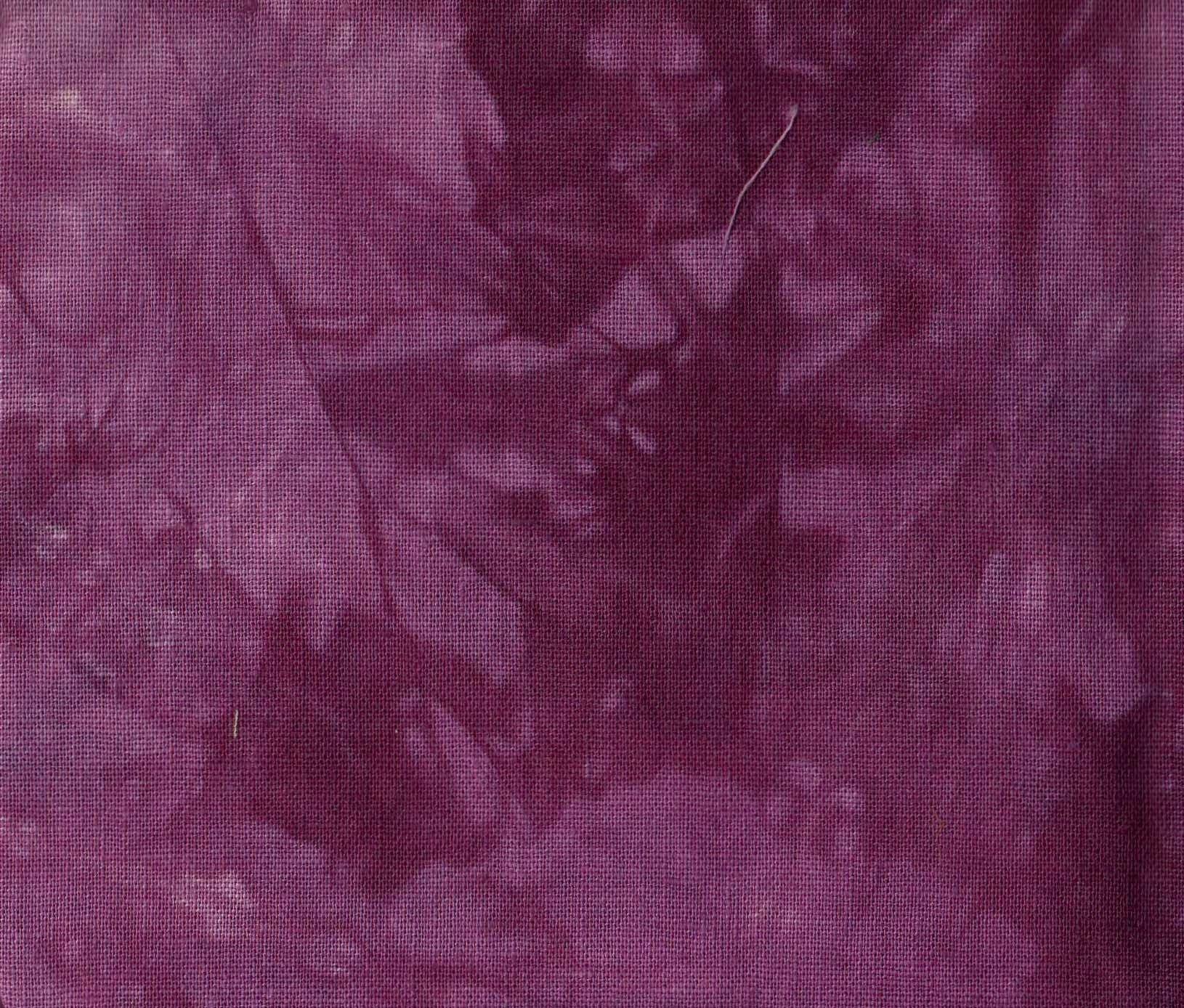 Raspberry Hand-Dyed Linen