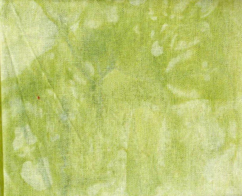 Kiwi Hand-Dyed Linen Fat Quarter