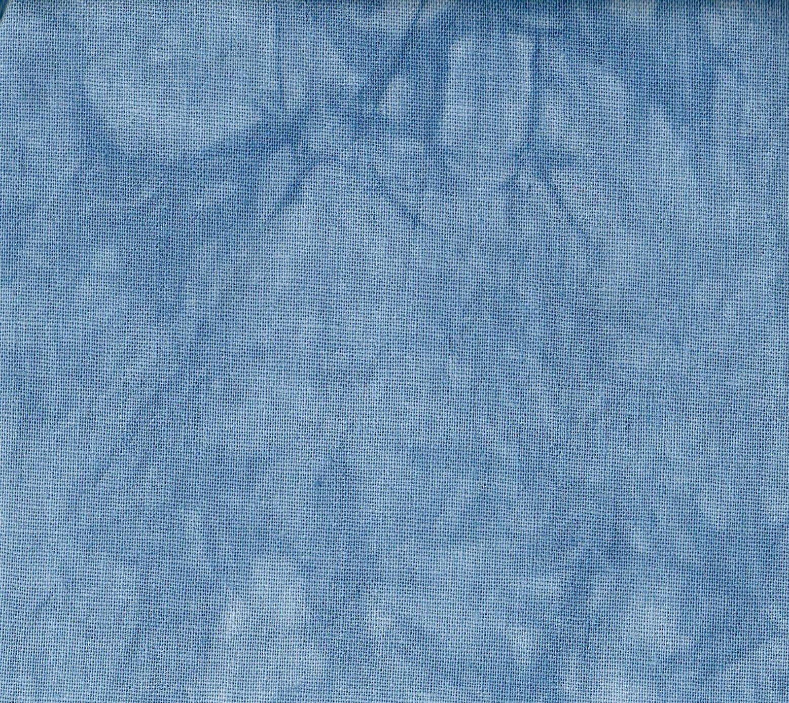 Cornflower Hand-Dyed Linen Fat Quarter