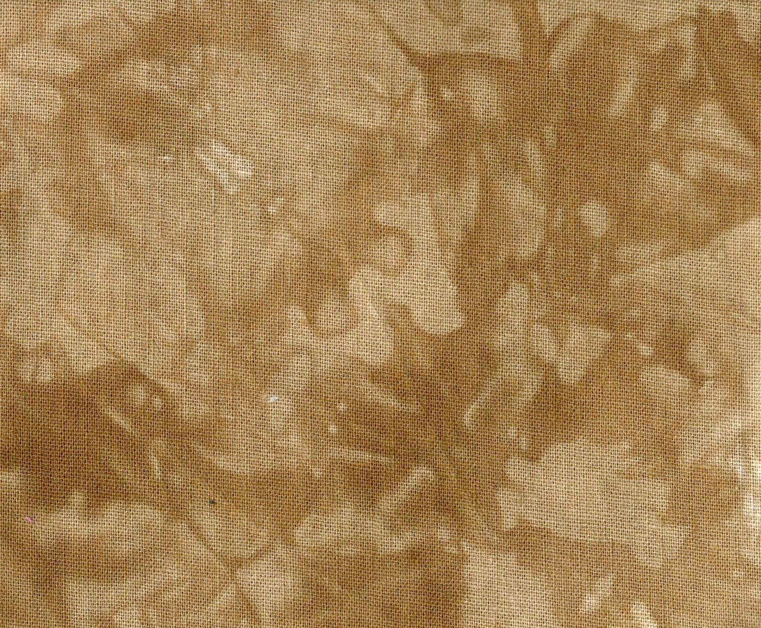 Caramel Hand-Dyed Linen Fat Quarter
