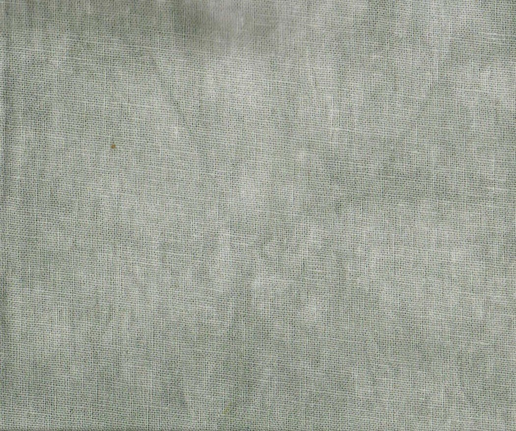 Silver Fox Hand-Dyed Linen Fat Quarter