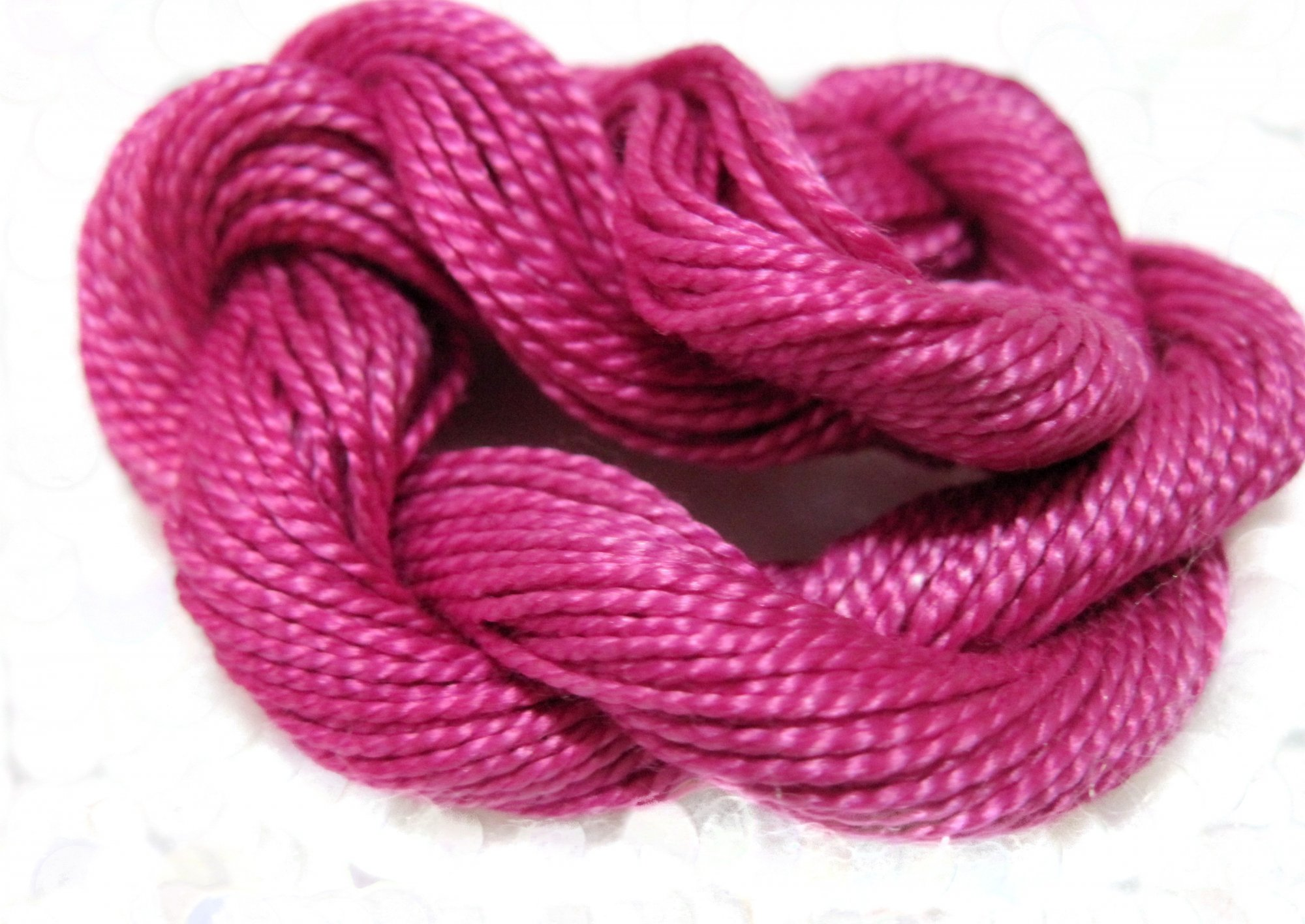 Amethyst- Solid Hand-Dyed Perle Cotton Size 5
