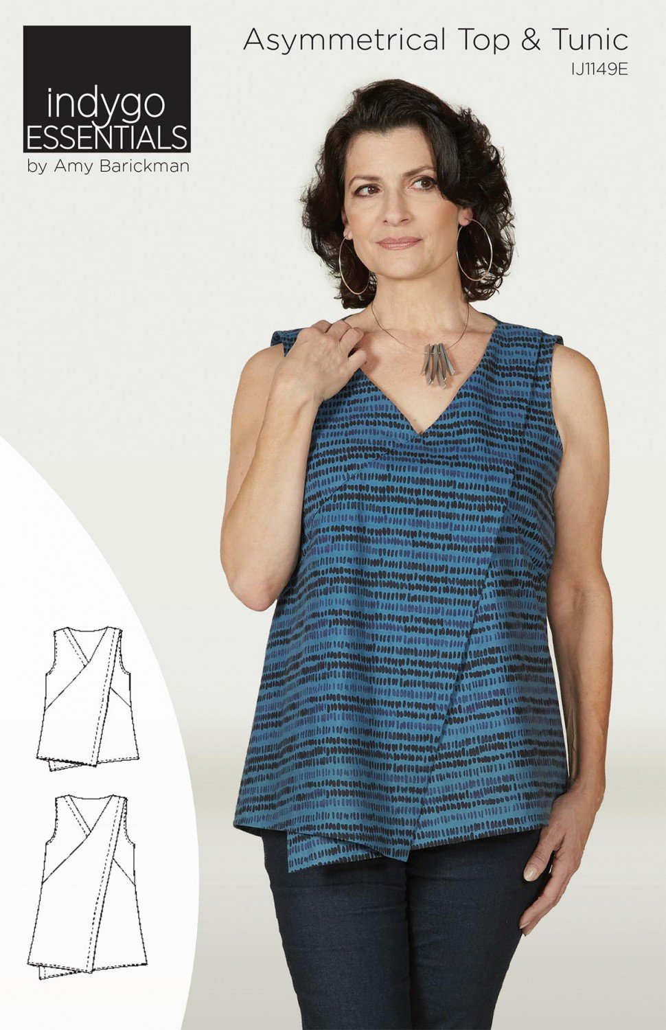 Asymmetrical Tunic by Indygo Junction