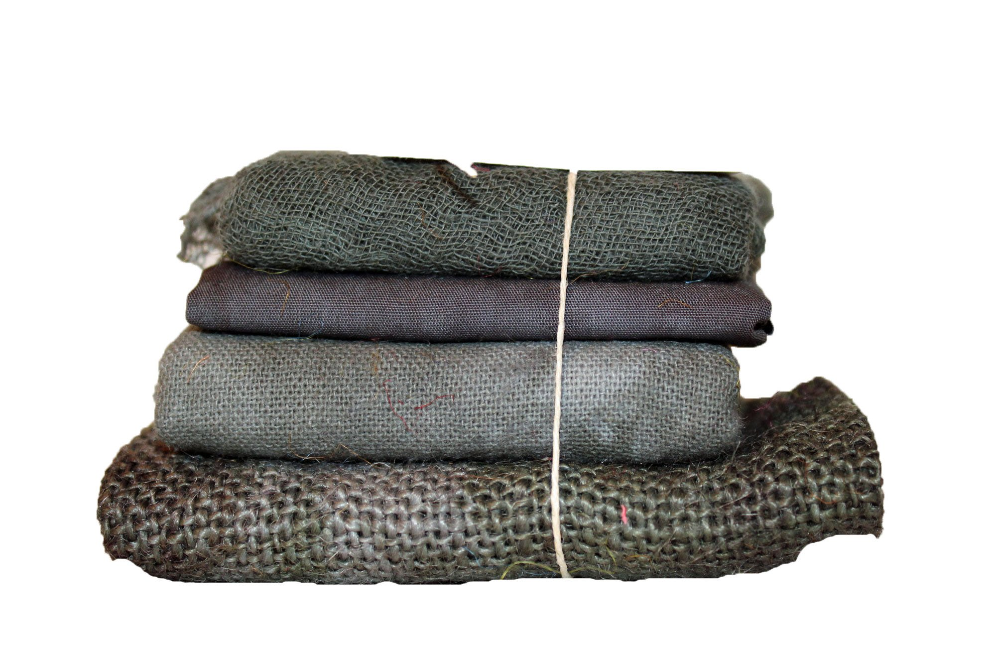 Bark Bindle - Cheesecloth, Cotton, Osnaburg, & Burlap
