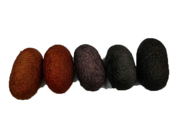 Bark Silk Cocoon Mix- 5pc