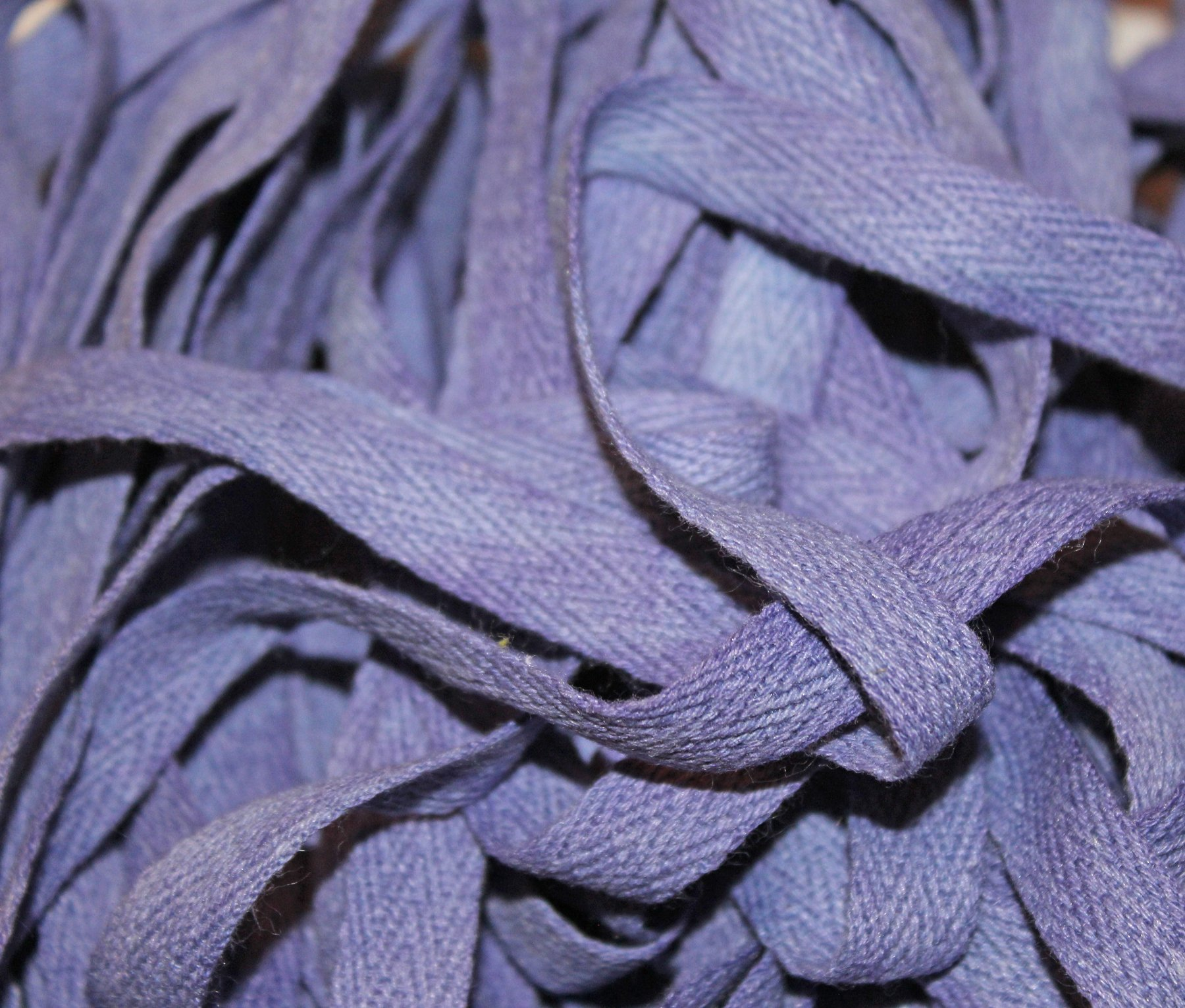 Boysenberry - Hand-dyed Cotton Twill Tape