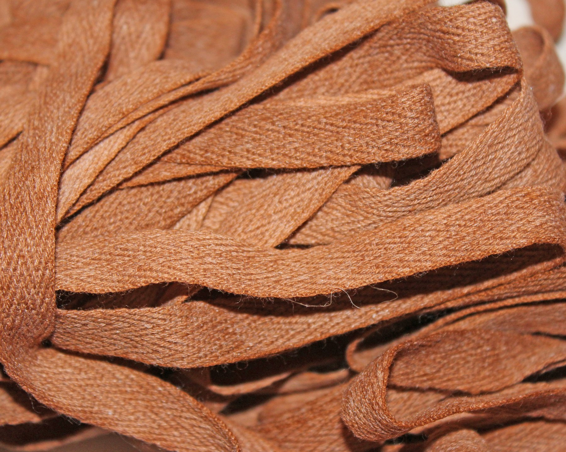 Brick - Hand-dyed Cotton Twill Tape