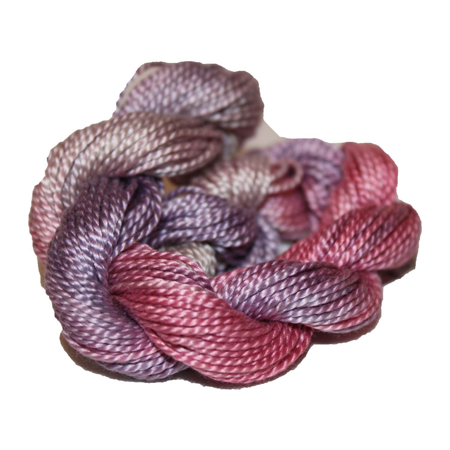 Carnation- Hand-dyed Perle Cotton Sz12  20yds