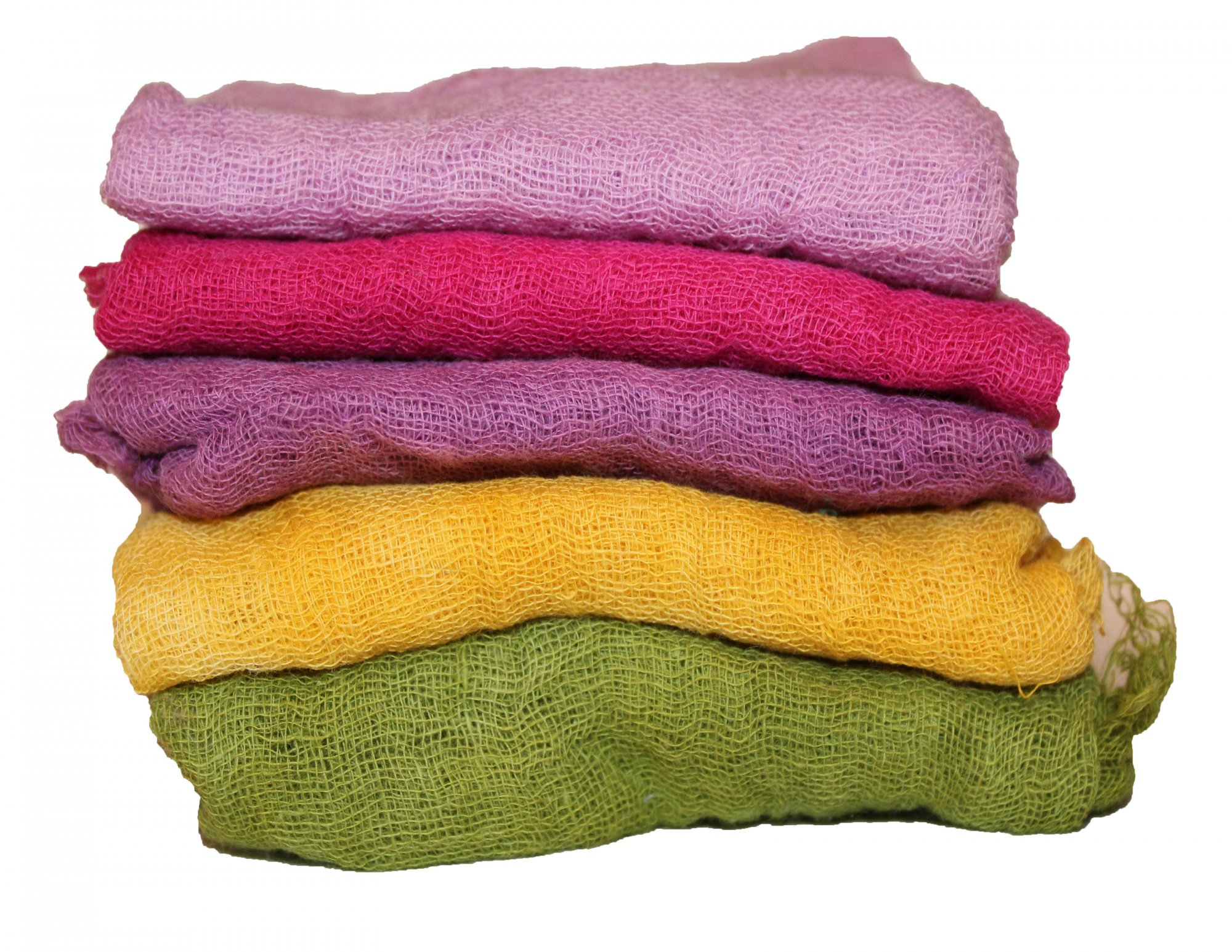 Carnival 5pc Hand Dyed Cheesecloth Combo