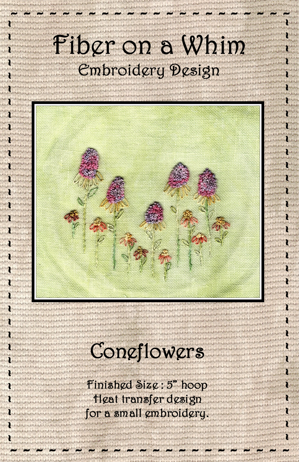 Coneflowers Heat Transfer Design