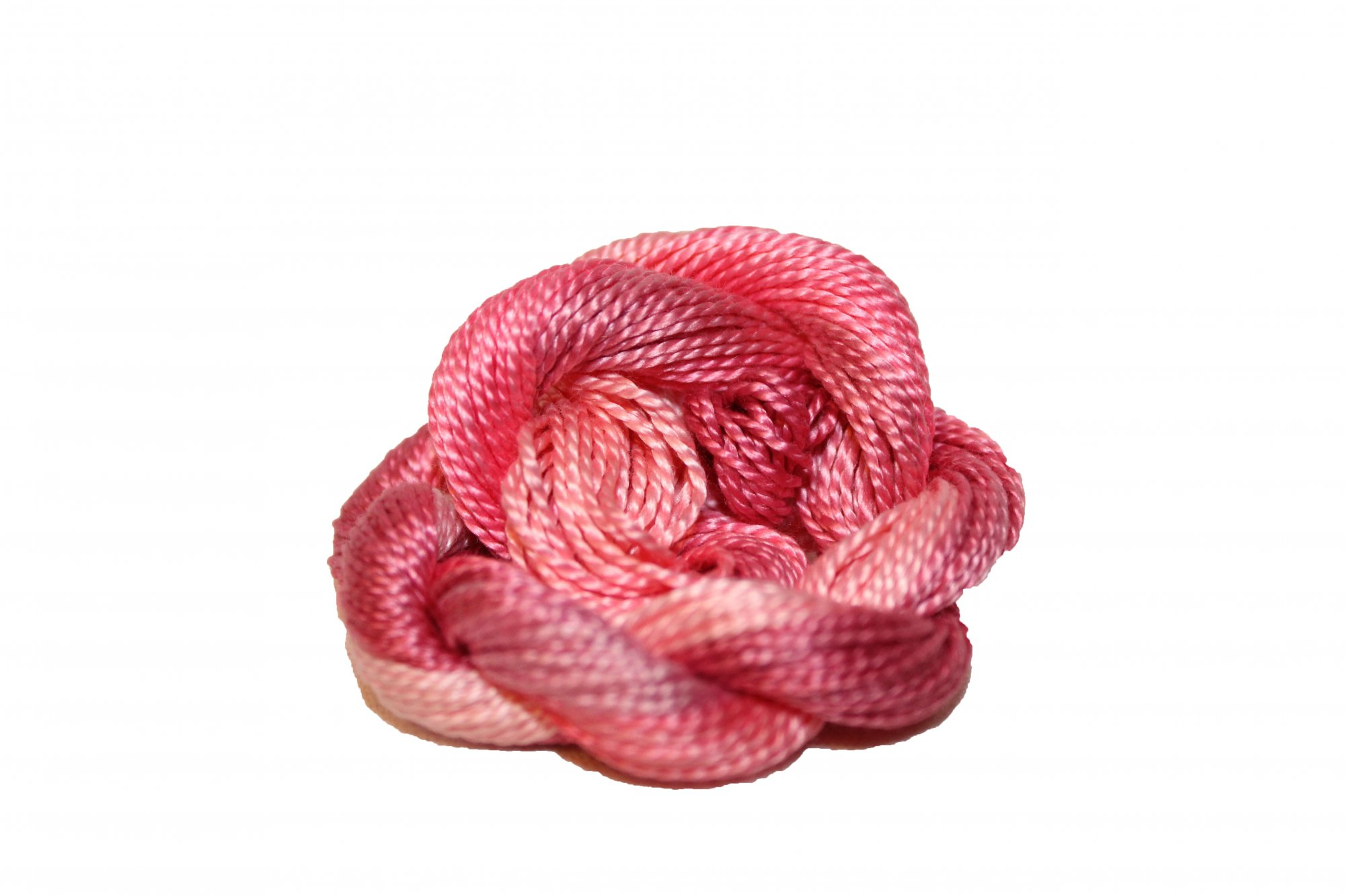 Coral Reef Hand-Dyed Perle Cotton Size 3